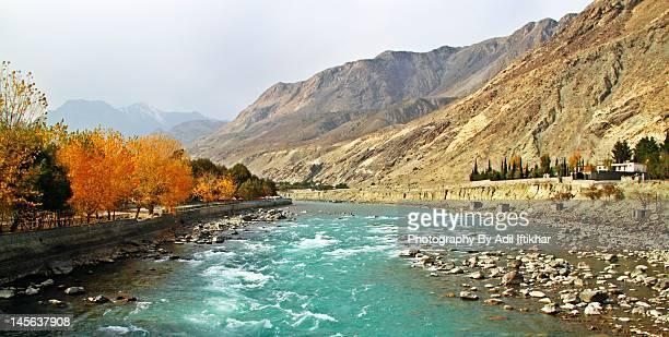 Autumn in Gilit, Pakistan