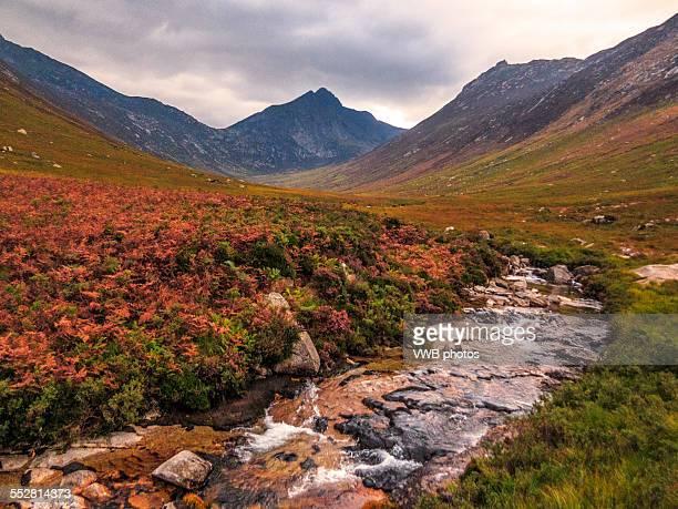 Autumn in Glen Sannox, Arran, Scotland