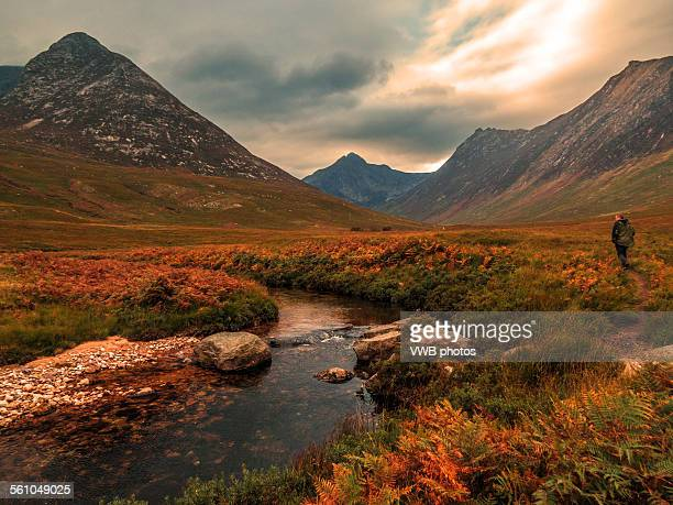 Autumn in Glen Sannox, Arran, Scotland.