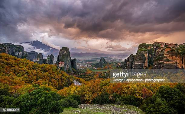 Autumn in Meteora