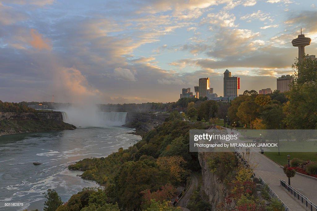 Autumn in Niagara Falls, Canada