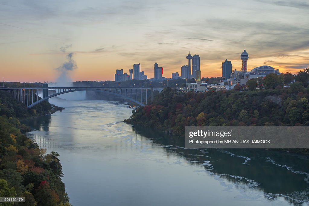 Autumn in Niagara Falls, USA