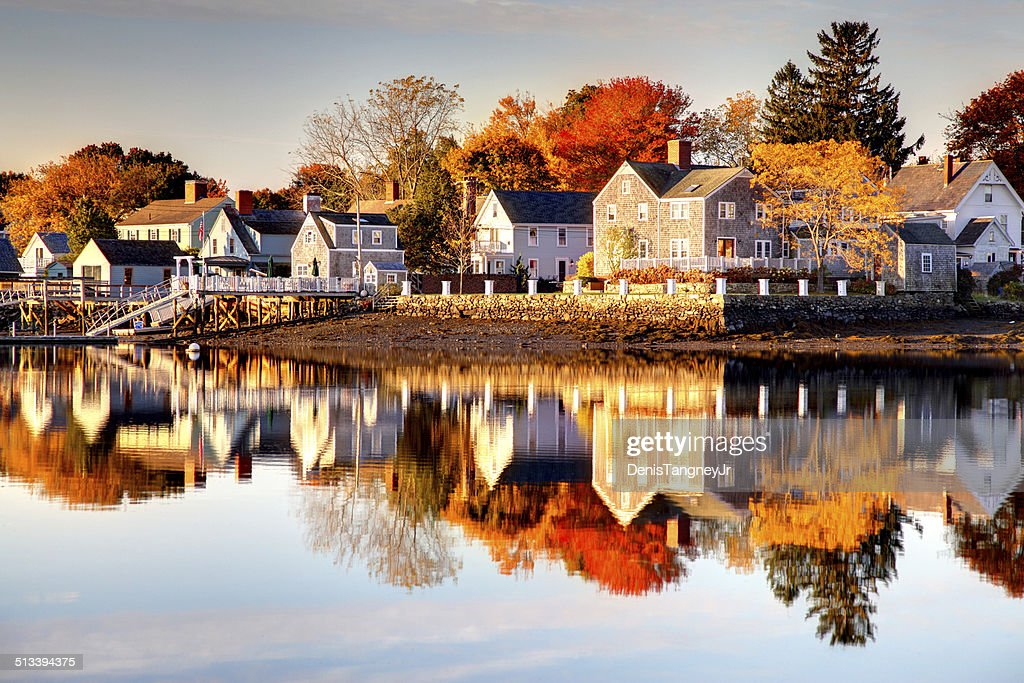 Autumn in Portsmouth, New Hampshire