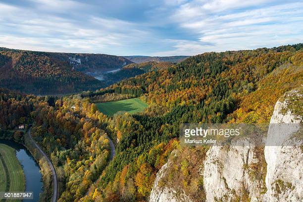 Autumn in the Upper Danube Nature Park, Baden-Wuerttemberg, Germany, Europe