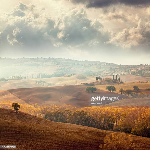 Autumn landscape in Tuscany