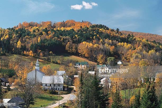 Autumn landscape , Vermont