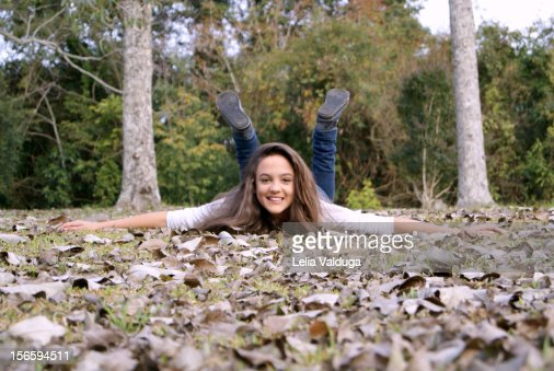 Autumn leaves ... are pure fun!! : Stock Photo
