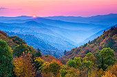 Autumn Mountain Sunrise