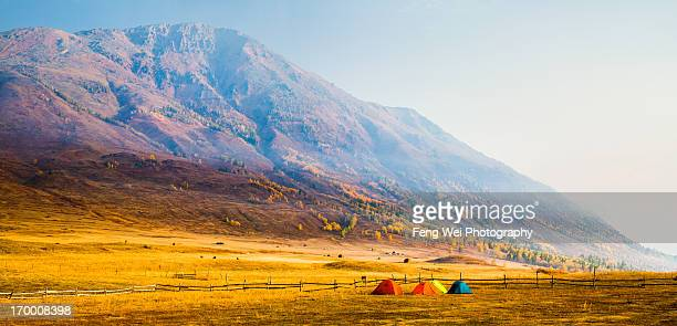Autumn Mountains, Hemu, Xinjiang China