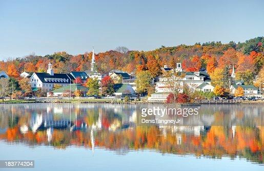 Autumn on Lake Winnipesaukee