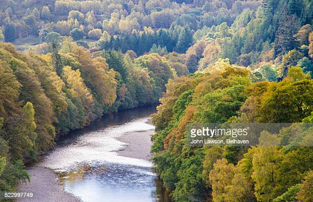 Autumn on the River Garry, Perthshire, Scotland