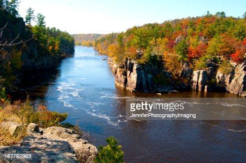 Autumn on the St Croix River
