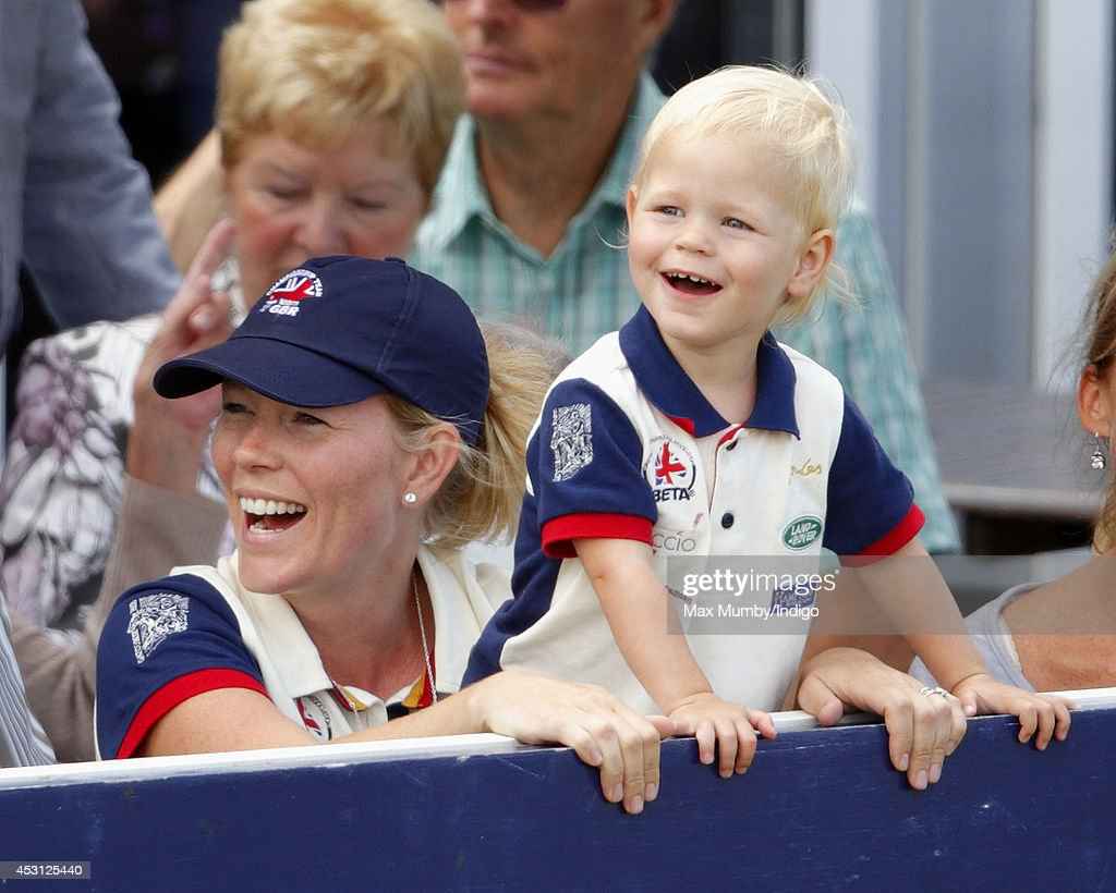 <a gi-track='captionPersonalityLinkClicked' href=/galleries/search?phrase=Autumn+Phillips&family=editorial&specificpeople=728048 ng-click='$event.stopPropagation()'>Autumn Phillips</a> and daughter <a gi-track='captionPersonalityLinkClicked' href=/galleries/search?phrase=Isla+Phillips&family=editorial&specificpeople=9481041 ng-click='$event.stopPropagation()'>Isla Phillips</a> attend day 3 of the Festival of British Eventing at Gatcombe Park on August 3, 2014 in Minchinhampton, England.