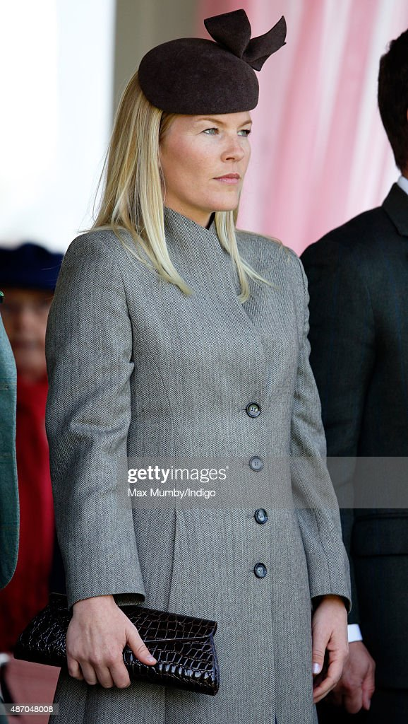 Autumn Phillips attends the Braemar Gathering at The Princess Royal and Duke of Fife Memorial Park on September 5, 2015 in Braemar, Scotland. There has been an annual gathering at Braemar, in the heart of the Cairngorms National Park, for over 900 years. The current gathering, in the form of a Highland Games and run by the Braemar Royal Highland Society (BRHS), takes place on the first Saturday in September and sees competitors in Running, Heavy Weights, Solo Piping, Light Field and Solo Dance watched by around 16000 spectators. This year the BRHS commemorate their bi-centenary. Members of the Royal family often attend the event and Her Majesty the Queen is Chieftain of the Braemar Gathering.