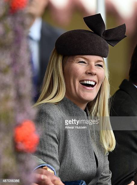Autumn Phillips attends the Braemar Highland Games on September 05 2015 in Braemar Scotland There has been an annual gathering at Braemar in the...