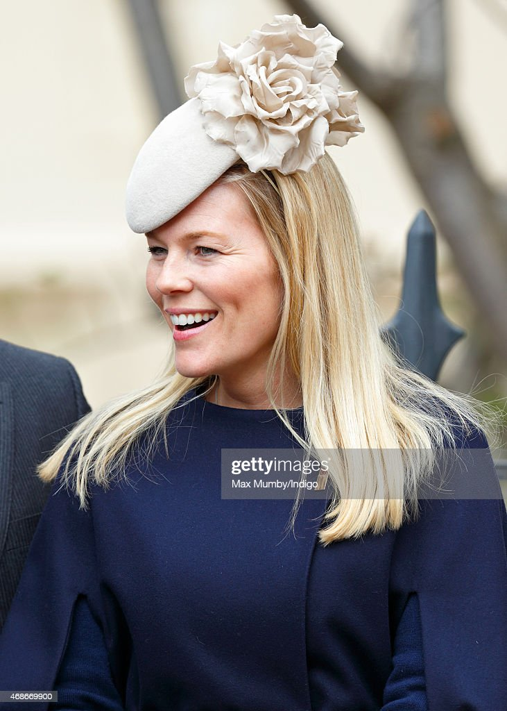 Autumn Phillips attends the Easter Matins service at St George's Chapel, Windsor Castle on April 5, 2015 in Windsor, England.