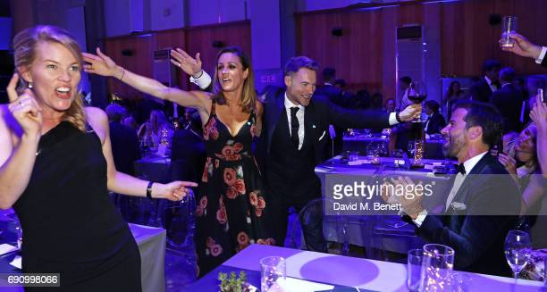 Autumn Phillips Natalie Pinkham Ronan Keating and Gethin Jones attend the 50th anniversary of The Beatles SGT Pepper Album at Abbey Road Studios for...
