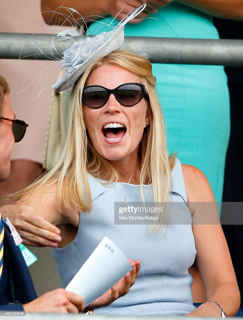<a gi-track='captionPersonalityLinkClicked' href=/galleries/search?phrase=Autumn+Phillips&family=editorial&specificpeople=728048 ng-click='$event.stopPropagation()'>Autumn Phillips</a> watches the racing as she attends the King George Day Meet at Ascot Racecourse on July 26, 2014 in Ascot, England.
