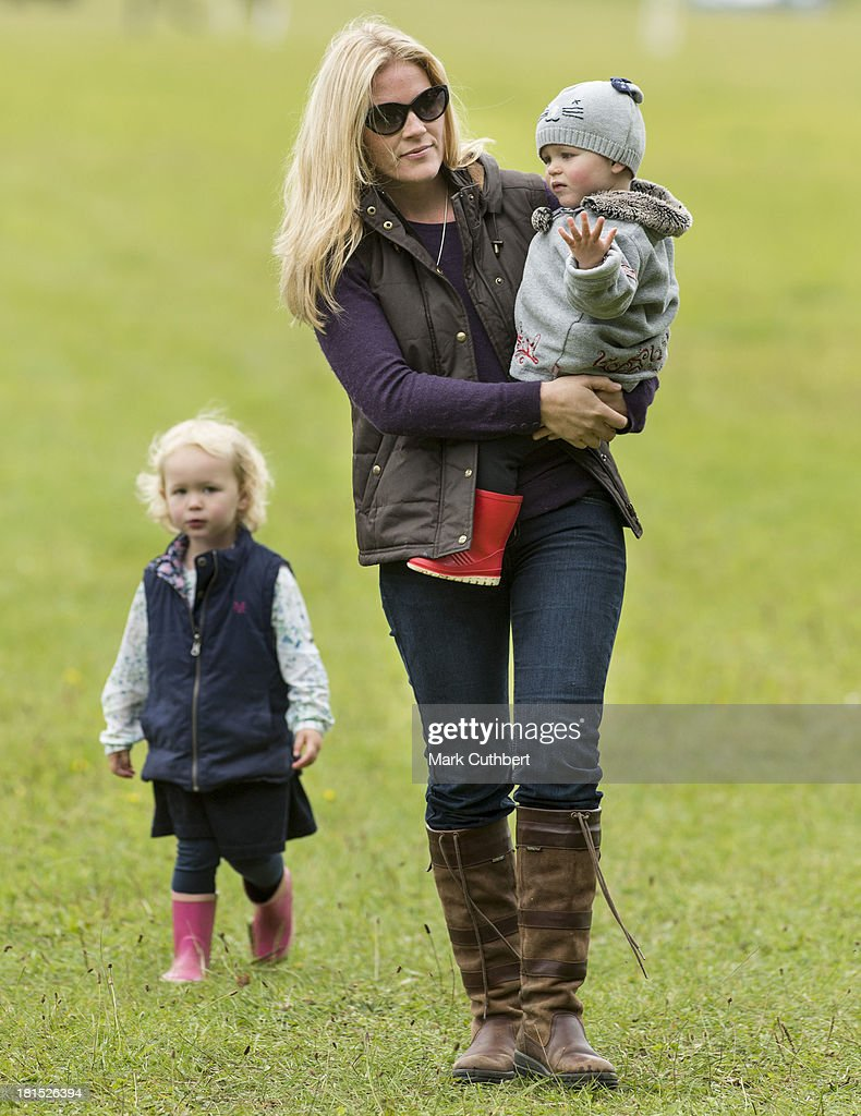 <a gi-track='captionPersonalityLinkClicked' href=/galleries/search?phrase=Autumn+Phillips&family=editorial&specificpeople=728048 ng-click='$event.stopPropagation()'>Autumn Phillips</a> with Isla Phillips and Savannah Phillips (L) attend the Gatcombe Horse Trials at Gatcombe Park on September 21, 2013 in Minchinhampton, England.