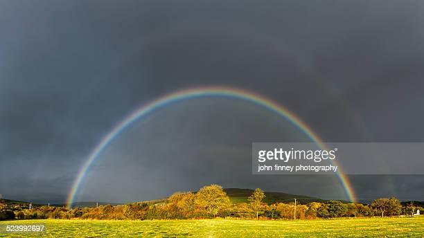 Autumn Rainbow, Peak District.