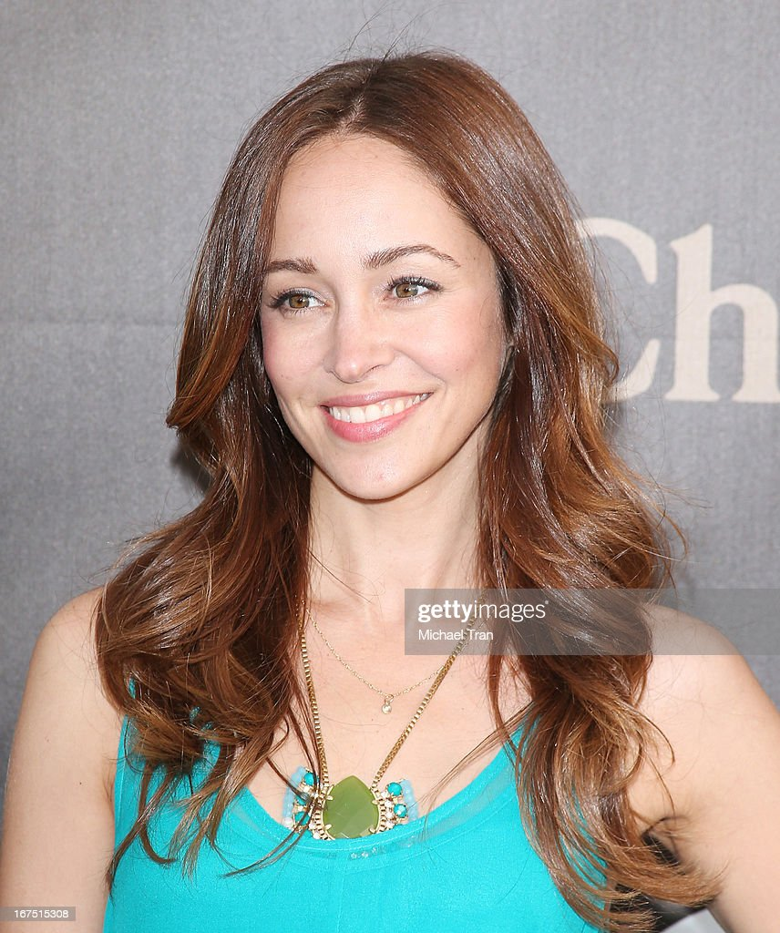 Autumn Reeser arrives at The Los Angeles Modernism show & sale to benefit P.S. ARTS held at Barker Hangar on April 25, 2013 in Santa Monica, California.
