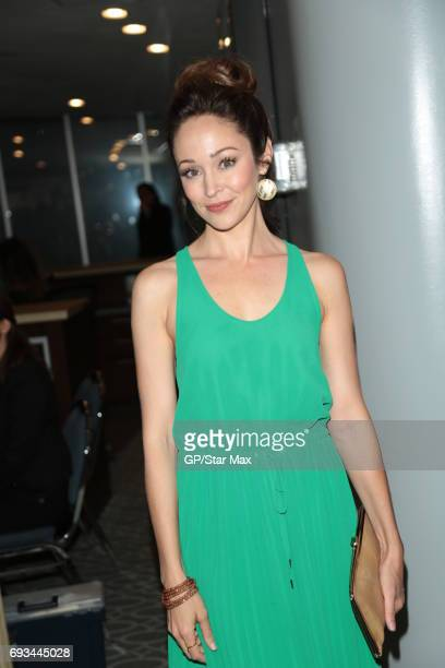 Autumn Reeser is seen on June 6 2017 in Los Angeles CA