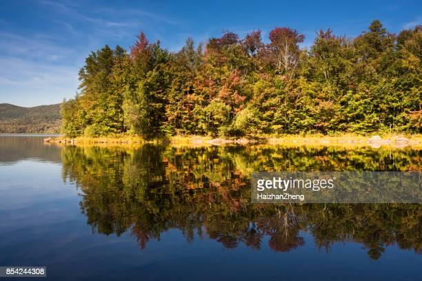 Autumn Reflection in Scenic Vermont
