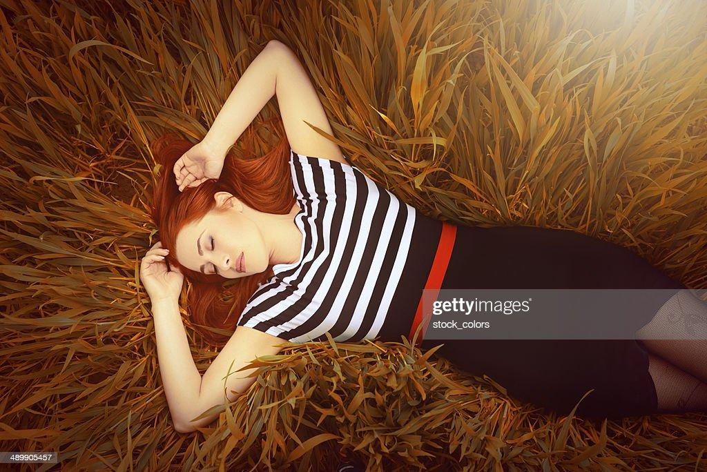 autumn relax : Stock Photo