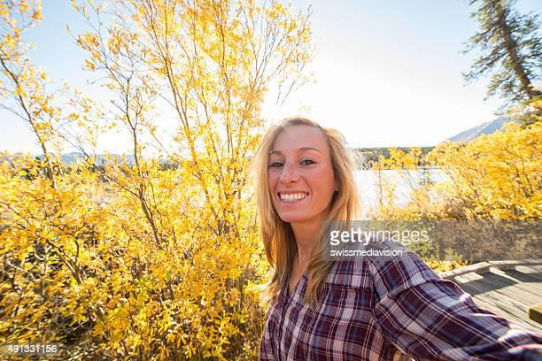 Herbst selfie