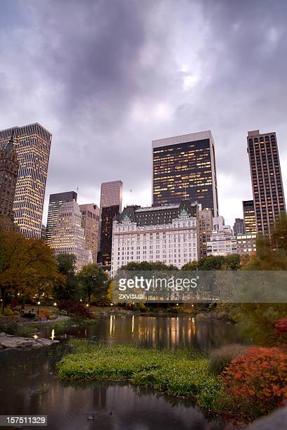 Autumn Skyline in Central Park NYC