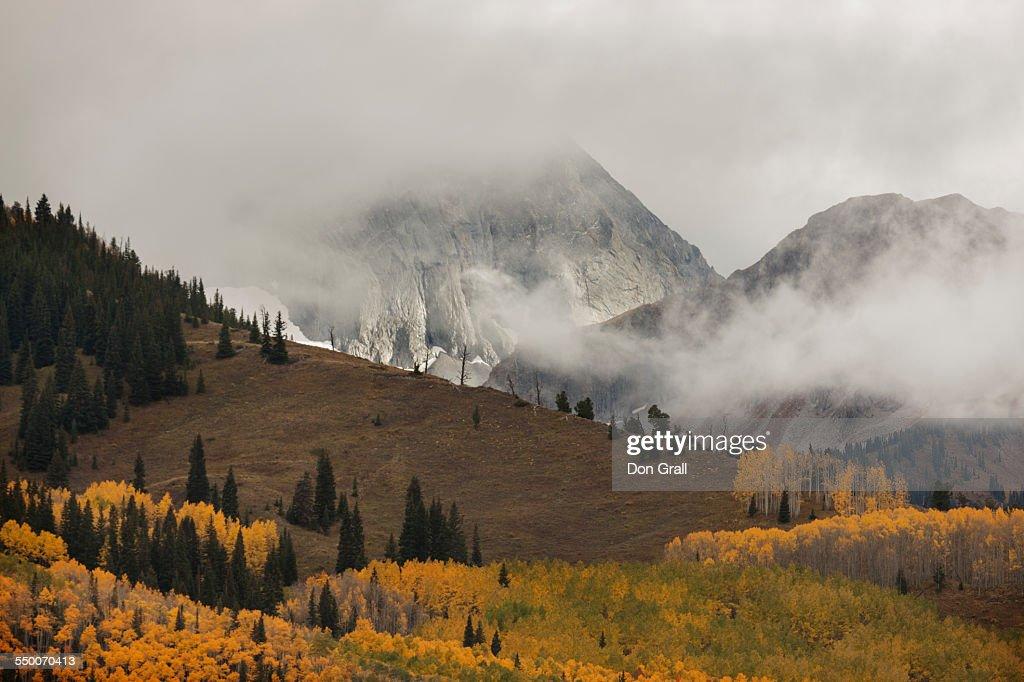 Autumn storm on Capitol Peak