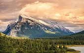 This is taken from a scenic pull off on the Trans Canada Highway, just before you get to Banff