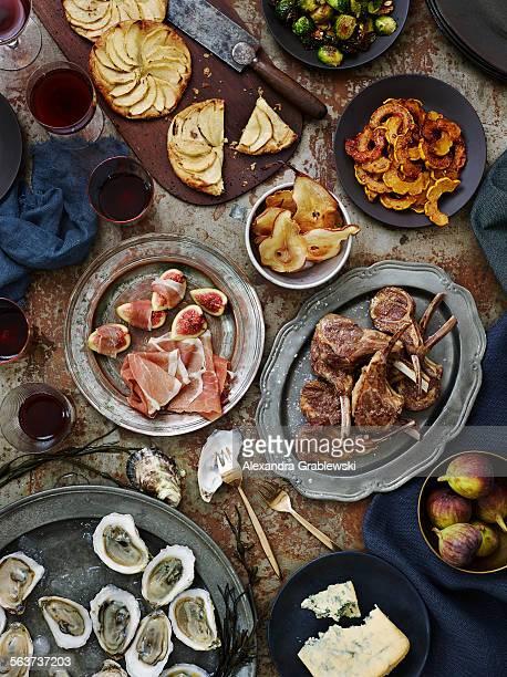 Autumn Table Spread