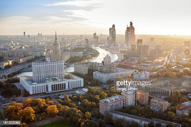 Autumn view of Moscow