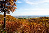 Autumn vista from the Gatineau Hills.