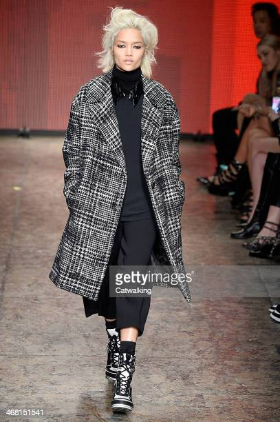 Autumn Winter 2014 fashion show during New York Fashion Week on February 9 2014 in New York United States