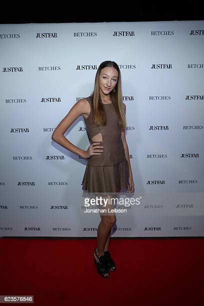 Ava Cota at the #BETCHESxJUSTFAB Event on November 15 2016 at The Doheny Room in West Hollywood California