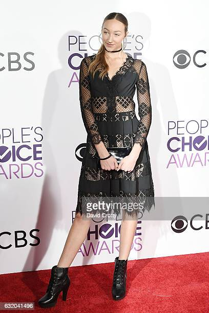 Ava Cota attends the People's Choice Awards 2017 Arrivals at Microsoft Theater on January 18 2017 in Los Angeles California