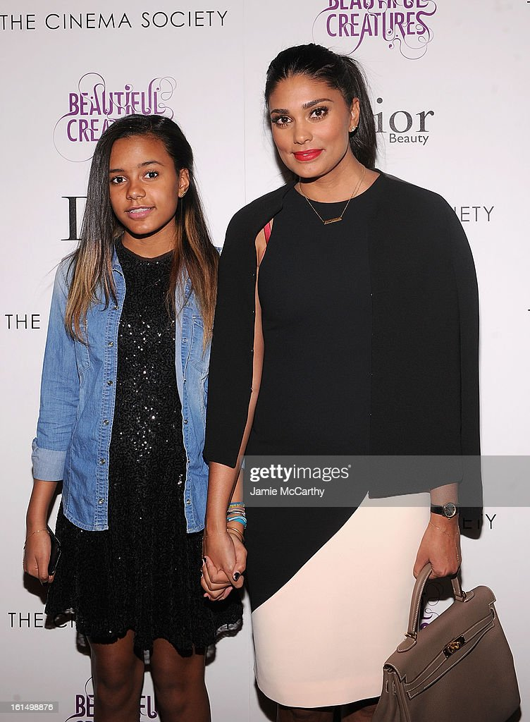 Ava Dash and Rachel Roy attend The Cinema Society And Dior Beauty Presents A Screening Of 'Beautiful Creatures' at Tribeca Cinemas on February 11, 2013 in New York City.