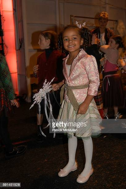 Ava Dash attends Child Magazine Fashion Show at The Atelier Tent at Bryant Park on February 7 2005 in New York City
