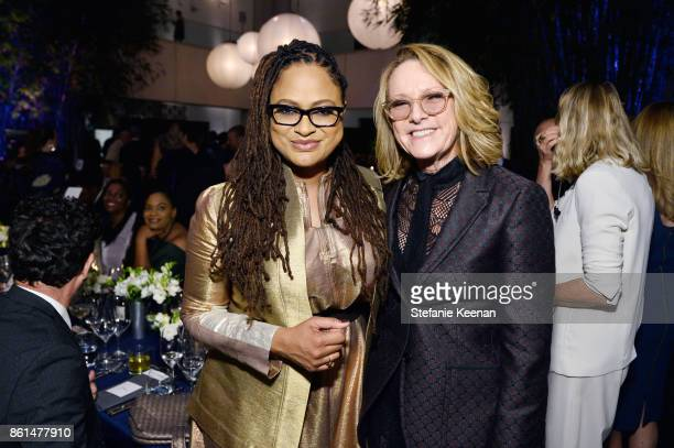 Ava DuVernay and Ann Philbin at the Hammer Museum 15th Annual Gala in the Garden with Generous Support from Bottega Veneta on October 14 2017 in Los...