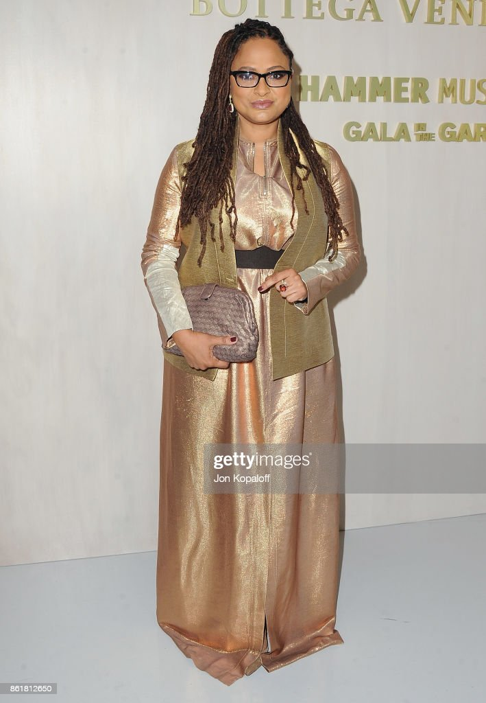 Ava DuVernay arrives at the Hammer Museum Gala In The Garden at Hammer Museum on October 14, 2017 in Westwood, California.