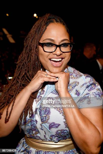 Ava DuVernay at the 2017 AMD British Academy Britannia Awards Presented by American Airlines And Jaguar Land Rover at The Beverly Hilton Hotel on...