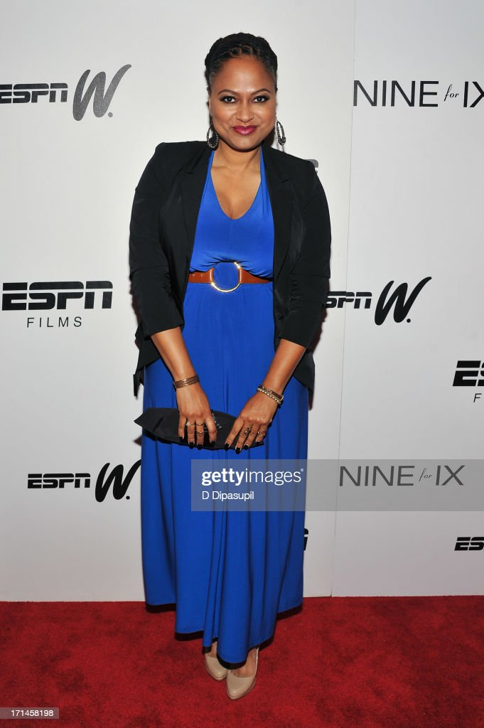 <a gi-track='captionPersonalityLinkClicked' href=/galleries/search?phrase=Ava+DuVernay&family=editorial&specificpeople=7197952 ng-click='$event.stopPropagation()'>Ava DuVernay</a> attends the 'Venus Vs.' and 'Coach' screenings at the Paley Center For Media on June 24, 2013 in New York City.