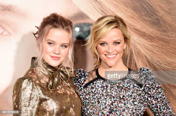 Ava Elizabeth Phillippe and actress Reese Witherspoon attend the premiere of HBO's 'Big Little Lies' at TCL Chinese Theatre on February 7 2017 in...