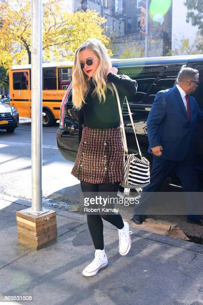 Ava Elizabeth Phillippe seen out in Manhattan on November 2 2017 in New York City