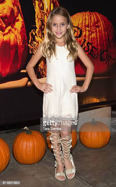 Ava Kolker attends Rise of the Jack O'Lanterns at Los Angeles Convention Center on October 13 2016 in Los Angeles California