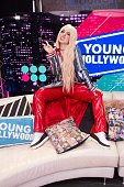 Ava Max Visits Young Hollywood Studio