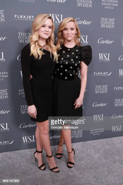 Ava Phillippe and Reese Witherspoon during the WSJ Magazine 2017 Innovator Awards at Museum of Modern Art on November 1 2017 in New York City