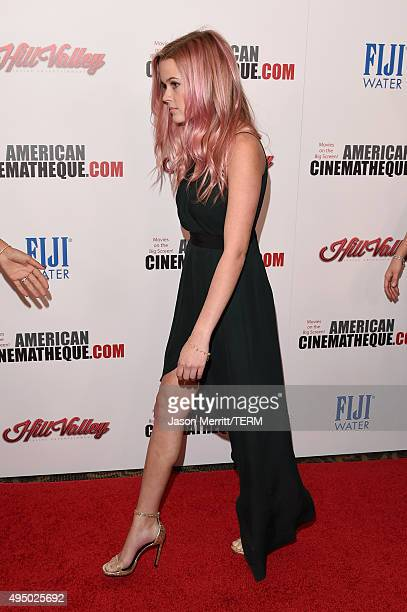 Ava Phillippe attends the 29th American Cinematheque Award honoring Reese Witherspoon at the Hyatt Regency Century Plaza on October 30 2015 in Los...